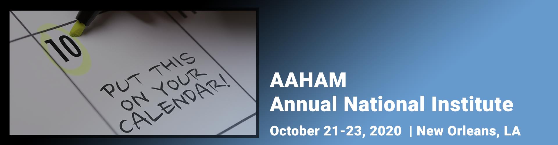 Calendar-Notice-AAHAM