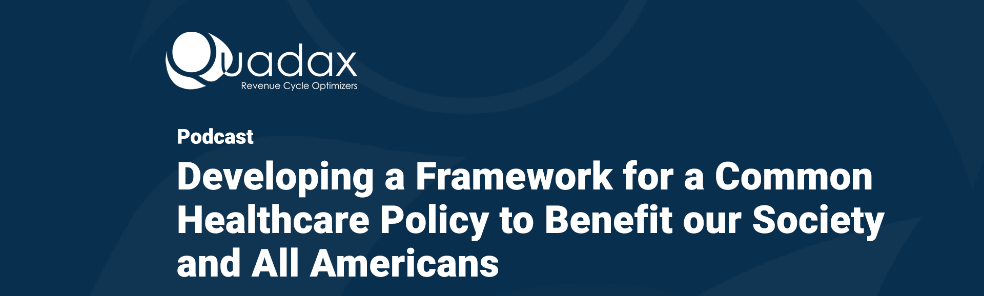 On-Demand-Podcast-Landing-Page-Healthcare-Policy